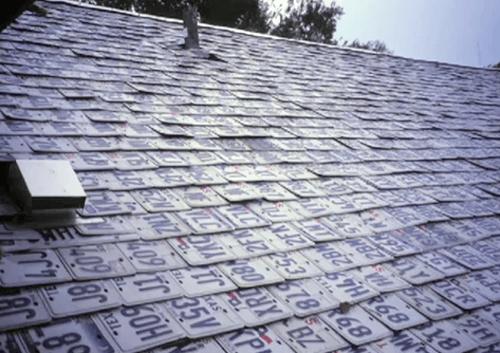 Repurposed Materials Make Unique Roofs Premier Your
